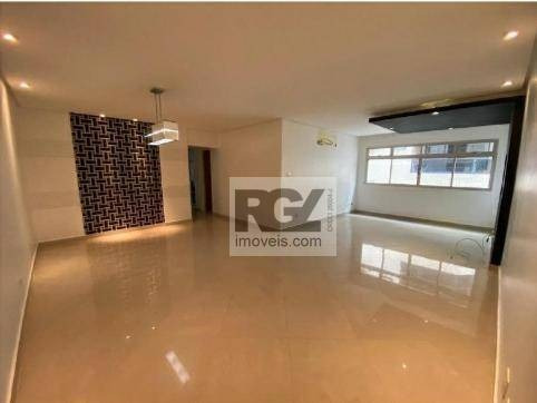 Apartamento Com 3 Dormitórios À Venda, 175 M² Por R$ 718.000,00 - Ponta Da Praia - Santos/sp - Ap0099