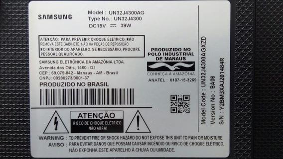 Kit De Leds Da Tv Samsung Modelo Un32 J4300ag