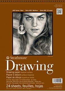 Strathmore Libreta Cuaderno Dibujo De 9x12 In (23x30.5 Cms)