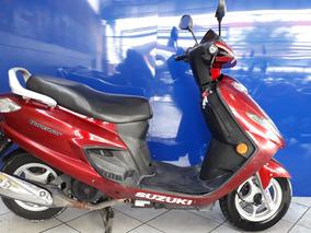 Suzuki Burgman 125 Vermelha 2008