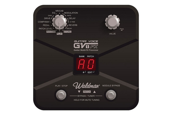 Pedaleira Waldman Guitar Voice Gv-1fx | Guitarra | Bivolt