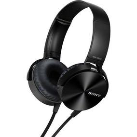 Fone De Ouvido Com Microfone Sony Mdr Xb450ap Preto