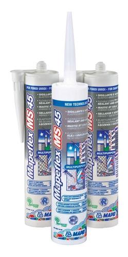 3 Pack Sellador Y Adhesivo Hibrido Mapeflex Ms45
