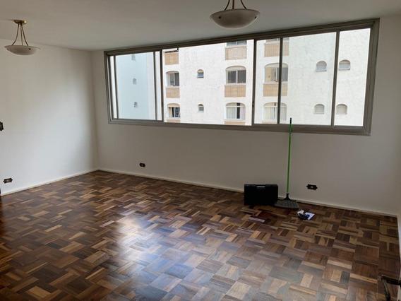 Apartamento Amplo Bela Vista 147m 3 Dorms Andar Alto Face No