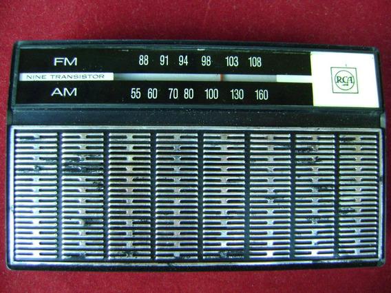 Radio Portatil Transistorizado Rca