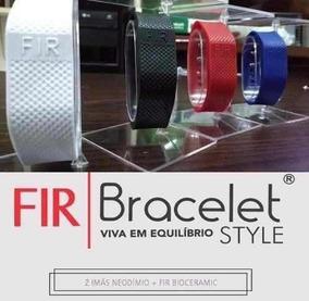 Bracelete Style Origin (kit C/ 2) Magnética Pulseira 1 Fir