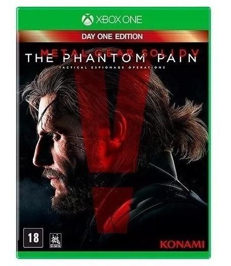 Jogo Metal Gear Solid V The Phantom Pain Xbox One