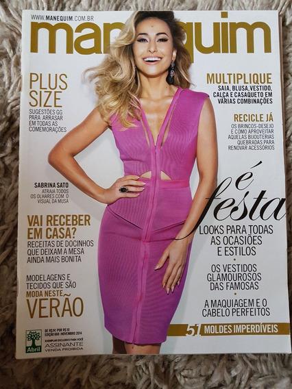 Revista Manequim Edição 668 Novembro 2014 Com Moldes