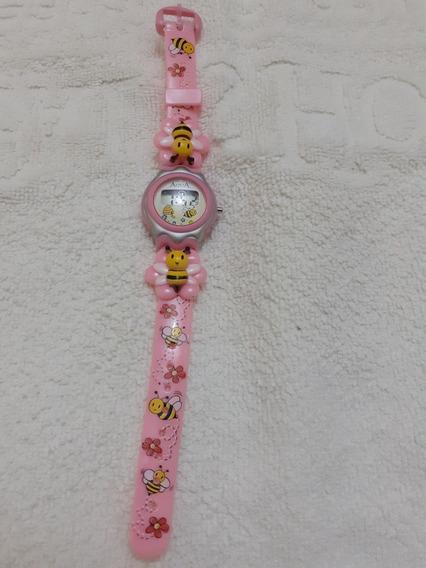 Mini Relógio Infantil P/meninas A Prova D Água/novo/variados