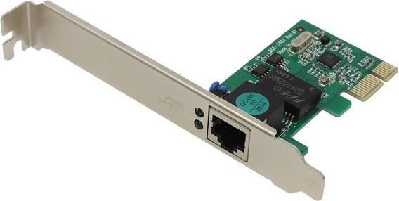 Placa De Red Pci Express Gigabit 1000mbps Netmak E723