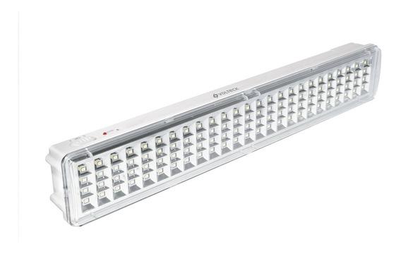 Lámpara De Emergencia Recargable, 100 Leds Volteck B49606