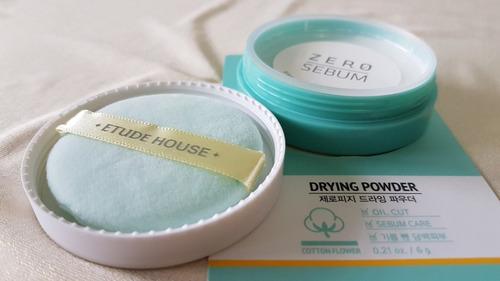 Etude House  Zero Sebum Drying Powder 6g - 100% Original