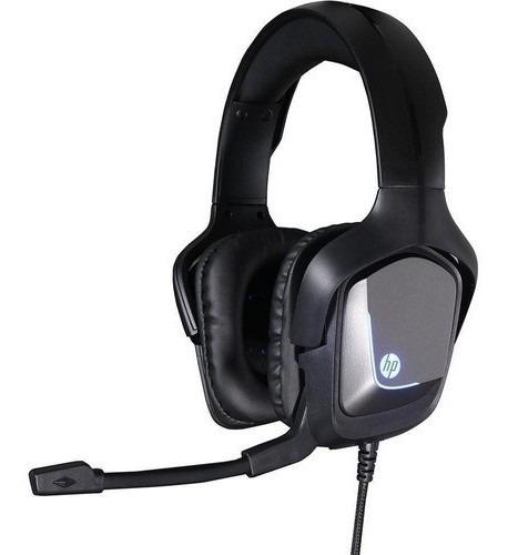 Fone De Ouvido Headset Gamer H220 Hp Led Xbox Ps4 Pc P2 P3