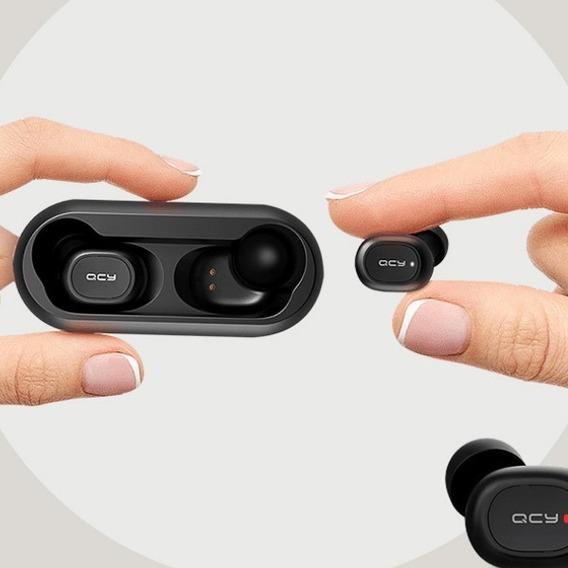 Fone De Ouvido Qcy Qs1 Tws Bluetooth 5.0 3d Estéreo