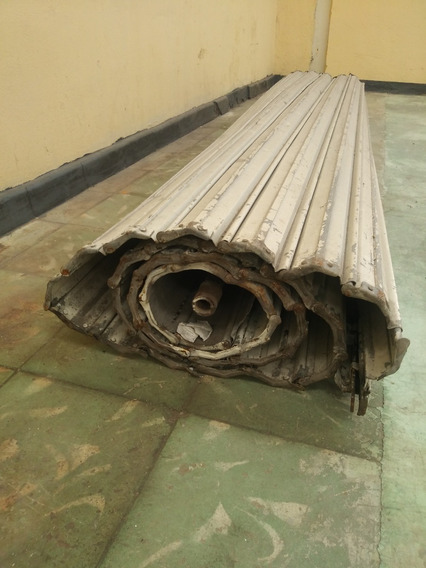 Cortina De Acero Enrollable 2.60mts Ancho X 3.60mts Alto