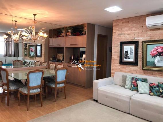 Apartamento Ed. Liberty Tower, Com 2 Dormitórios À Venda, 77 M² Por R$ 400.000 - Gleba Fazenda Palhano - Londrina/pr - Ap0052