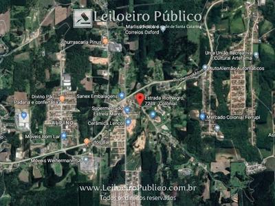 São Bento Do Sul (sc): Terreno Com 2.806;10 M² Snmne