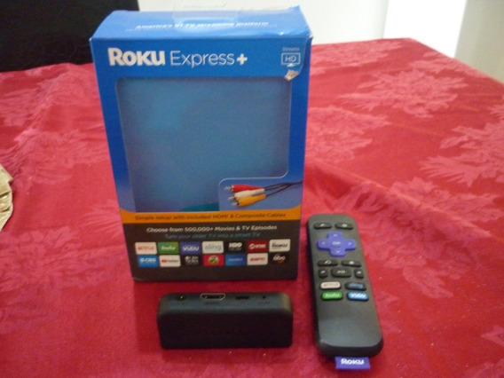 Roku Express 5 Potente Hd Streaming Incluye Cable Hdmi