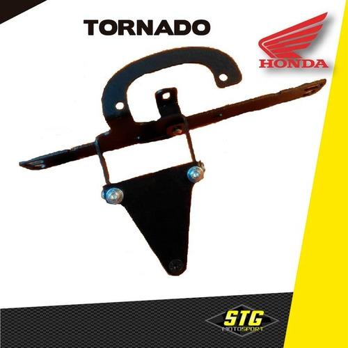 Imagen 1 de 5 de  Portapatente Fender Rebatible Stg Honda Tornado