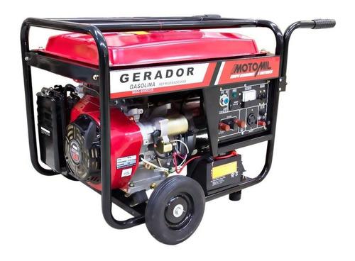 Gerador portátil Motomil MGG8000CLE 8000W monofásico com tecnologia AVR 127V/220V