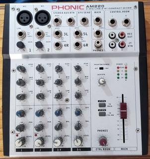 Consola Mixer Phonic Am 220