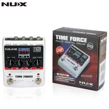 Pedal Delay Time Force - Nux