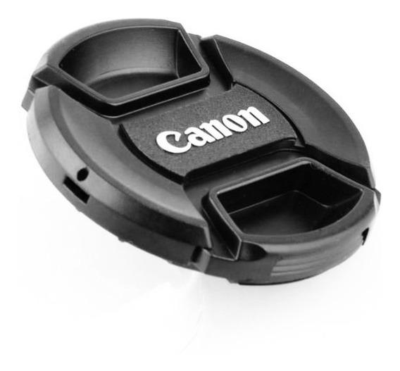 Tampa Para Lente Canon 50mm F/1.8 Stm Ø49mm 49mm Com Logo