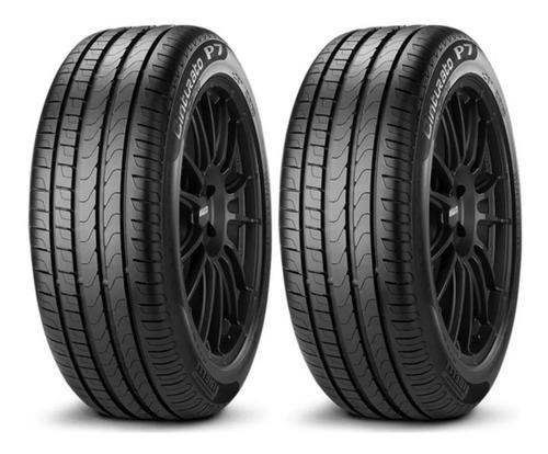 Imagen 1 de 4 de Kit X 2 Pirelli 205/45 R17 88v Cinturato P7 Neumabiz