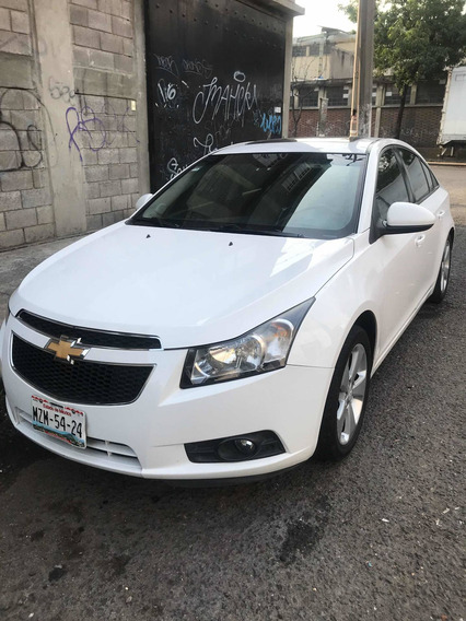 Chevrolet Cruze 1.4 F Lt Aa Cd Mp3 R-17 Piel Qc At 2010