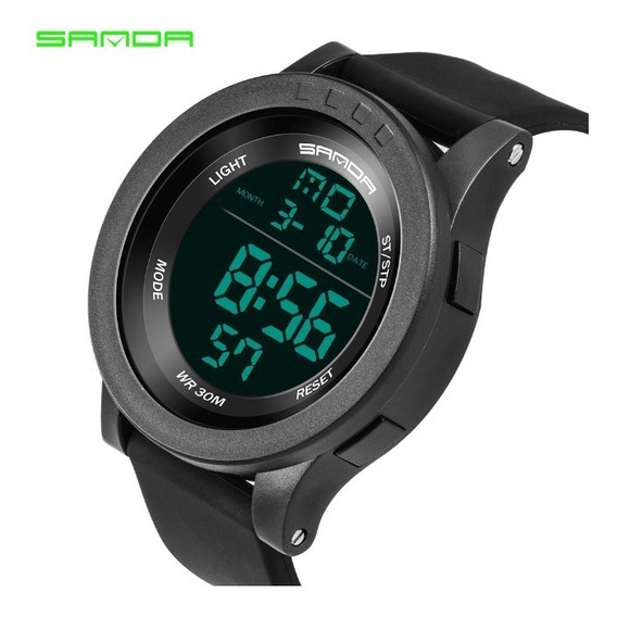 Relógio Esportivo Militar Sanda Modelo 336 Grande