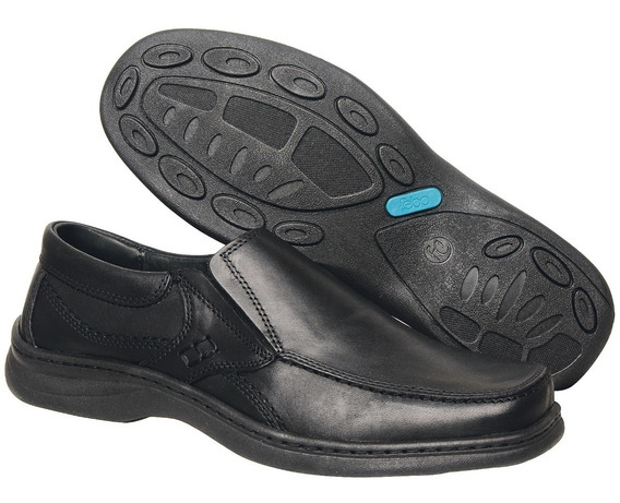 Zapato De Cuero Vacuno Suela Febo Base Cosidos Art. 6049