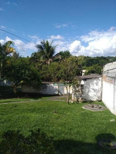 Imagem 1 de 11 de Permuta-se Chácara Escriturada Com 2 Dormitórios À Venda, 1000 M² Por R$ 520.000 - Barreiro - Taubaté/sp - Ch0187