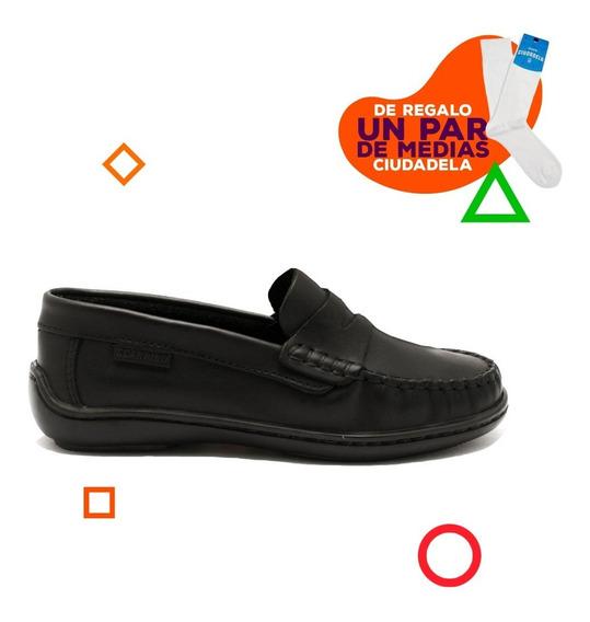 Zapatos Náuticos Scarpino Con Vincha De Niños