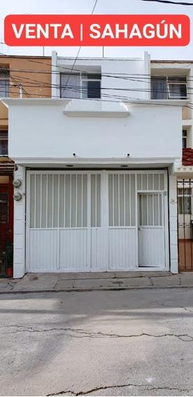 Casa En Venta En Sahagún Hidalgo, De 3 Habitaciones