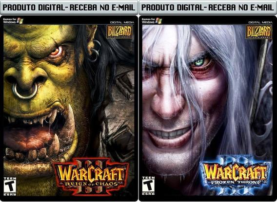 Warcraft 3 E Expansão - Pc - Envio Digital