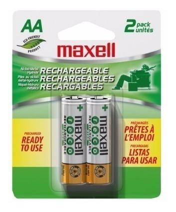 Bateria Recargable Aa Maxell 2100 Mah Pre Cargadas