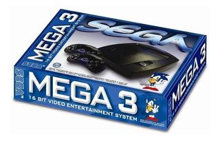 Consola Sega 3 Mega 16 Bits Nuevas Original 1 Juego