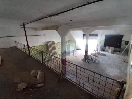 Salão Para Alugar, 170 M² Por R$ 1.700,00/mês - Jardim Zaira - Mauá/sp - Sl0162