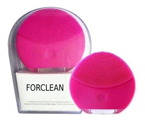 Escova Limpeza Facial Massageadora Esfoliação Forclean | Mercado Livre
