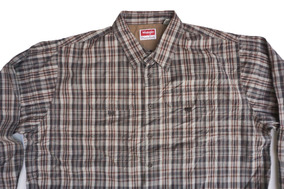 Camisa Wrangler Talla 3xl Premium Quality Big Mens Xxxl