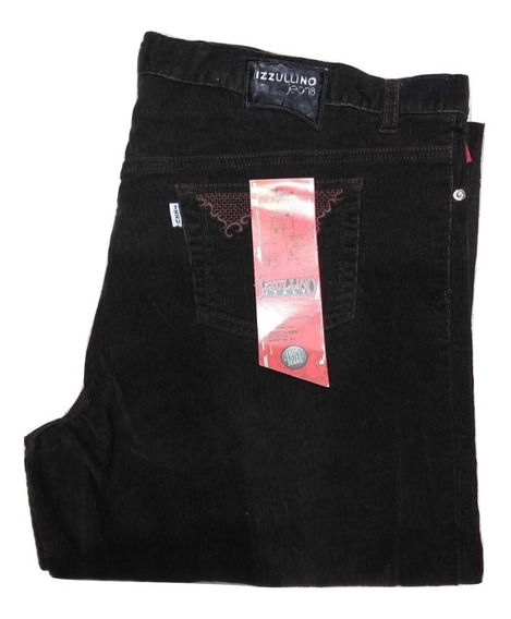 Jeans Elastizados Mujer Talles Grandes Izzullino Corderoy