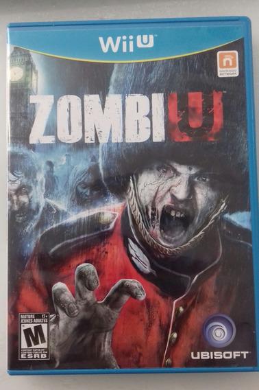 Zombiu Nintendo Wii U - Completo Com Manual
