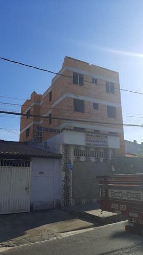 Imagem 1 de 2 de Cobertura Duplex À Venda, 2 Quartos, 1 Vaga, Letícia - Belo Horizonte/mg - 1911