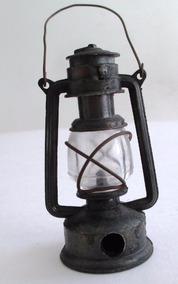 B9618 Apontador Lampião Em Metal E Vidro Medindo 7,5x3,5cm