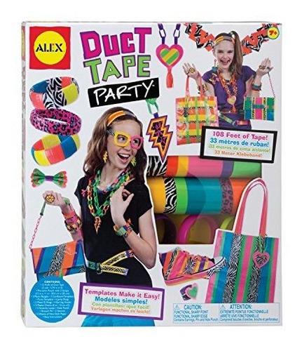 Imagen 1 de 3 de Alex Toys Diy Wear Duct Tape Party.