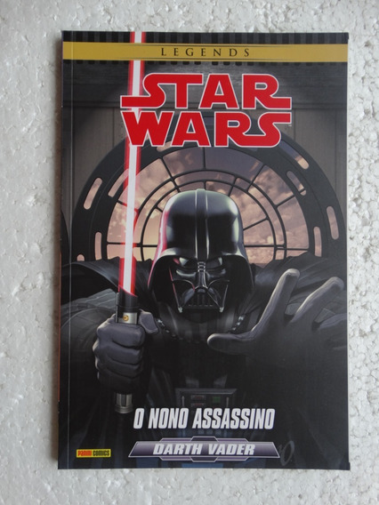 Star Wars Darth Vader: O Nono Assassino! Panini Jun 2016!