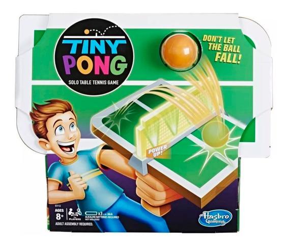 Tiny Pong Juego De Tenis Individual Hasbro E3112