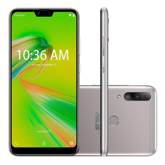 Smartphone Asus Zenfone Max Shot, 64gb, 12mp, Tela 6.2 Pol P