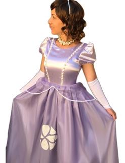 Fantasia Da Princesa Sofia Adulta No Mercado Livre Brasil