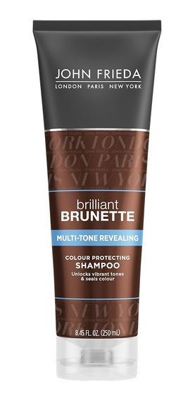 Shampoo Brilliant Brunette Multitone Revealing John Frieda
